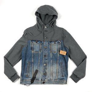 Cult of Individuality Heritage Denim Hooded Jacket